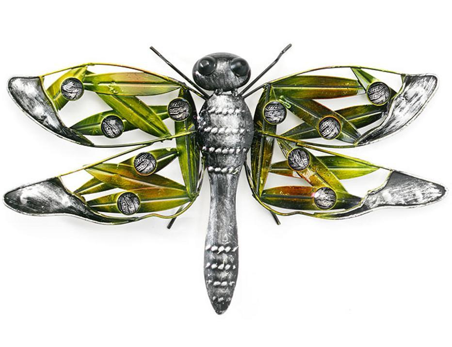 blech bild schmetterling gecko libelle eule uhu wand deko. Black Bedroom Furniture Sets. Home Design Ideas