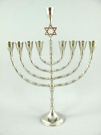 Davidleuchter Menorah Davidstern Kerzenleuchter Kerzenständer Antik Barock
