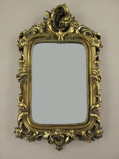 Wandspiegel Deco - Spiegel Barock - Spiegel Rahmen Antik Gold Barockrahmen