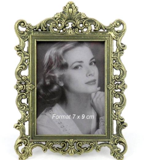 Bilderrahmen Fotorahmen Metall  Antik Portrait Rahmen Foto Frame