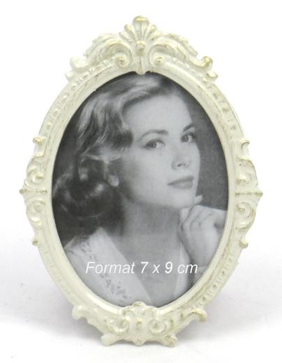 Fotorahmen Oval Biedermeier Bilderrahmen Rahmen Metall Antik