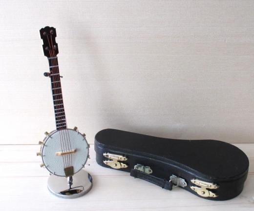 Banjo 5 string Miniatur Gitarre Deko Modell