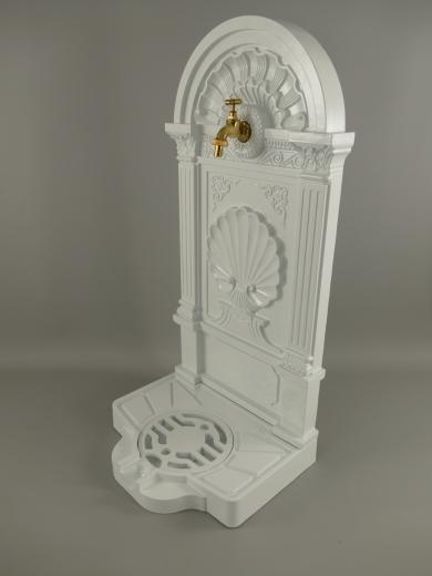 Standbrunnen 83 cm Zierbrunnen Aluminiumguss Antik - Stil Gartenbrunnen