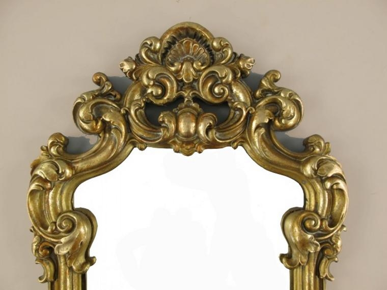 wandspiegel deko spiegel barockspiegel bad flur spiegel antik gold barock rahmen. Black Bedroom Furniture Sets. Home Design Ideas