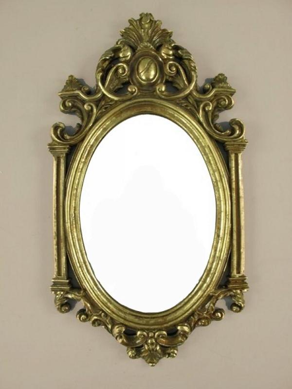 wandspiegel barock bad flur spiegel antik deco spiegel gold. Black Bedroom Furniture Sets. Home Design Ideas