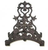 Garden hose holders cast iron hose holder Nouveau Gartendeko decorated