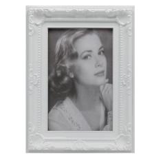 Bilderrahmen Fotorahmen Antik Weiß Format 10 x 15 cm