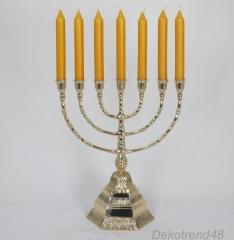 Candlestick Candlestick candlesticks David Menora Jewish Menorah Antique Baroque