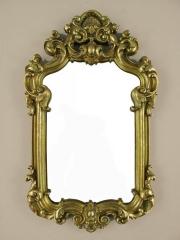 Wandspiegel Deko - Spiegel Barockspiegel Bad Flur Spiegel Antik Gold Barock - Rahmen