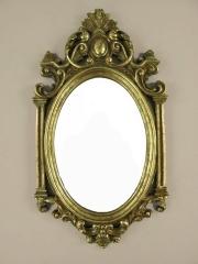 Wandspiegel Barock Bad Flur Spiegel Antik Deco - Spiegel Gold