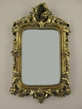 Deco wall mirror - Mirror Baroque - mirror frame antique gold baroque frame