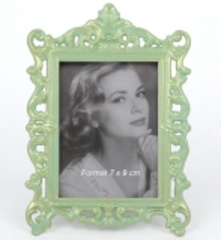 Bilderrahmen Fotorahmen aus Metall im Antik - Stil