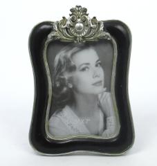 Bilderrahmen Fotorahmen Antik - Stil Schwarz Silber