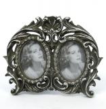 2 Trade Picture Frames baroque frame photo frame antique silver
