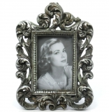 Photo Frame Stand - Setting Barockgalerie Photo Silver