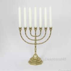 Kerzenleuchter Kerzenständer Davidleuchter Menora Jüdisch Menorah Antik Barock