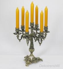 Kerzenleuchter 7 - Armig Tischleuchter Kerzenständer Messing Optik Antik Barock
