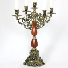 Kerzenleuchter 5 - ArmigTischleuchter Kerzenständer Barock Leuchter