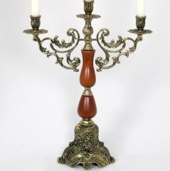 Kerzenleuchter 3 - Armig Tischleuchter Kerzenständer Antik Barock Leuchter