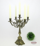 Candlesticks 5 - armed candlestick metal candle holders decorated Antique Baroque
