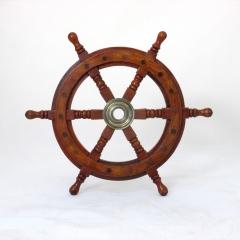 Ships steering Maritim boat pirate ship ship wheel Wood Brass