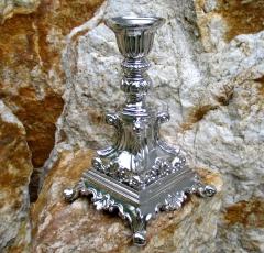 Kerzenleuchter Silber Kerzenständer Tischleuchter Nachtleuchter Antik Barock