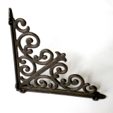 Antique shelf angle iron Shelf support wall bracket angle shelf birdhouse