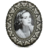 Photo frame picture frame stand - frame baroque frame gallery Photo Antique silver