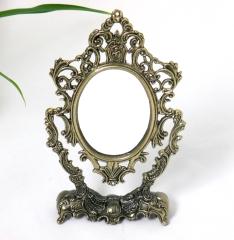 Kleine Prinzessin Spiegel Standspiegel Deko - Spiegel Schminkspiegel Antik Barock