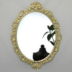 Wandspiegel Oval verziert Deko - Spiegel Spiegel Barock Rahmen Antik