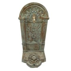Standbrunnen 83 cm Wasser-Zapfsäule Gusseisen Antik - Stil Gartenbrunnen