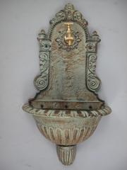 Wandbrunnen 70 cm Gusseisen Wandwaschbecken Antik Garten-Waschbecken