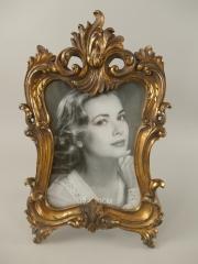 Barock Stehrahmen Bilderrahmen Gold Rahmen Gallerie Antik Fotorahmen