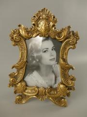 Barock Stehrahmen Bilderrahmen Gold Rahmen Gallerie Antik Fotorahmen 30 x 21 cm