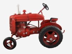 Blechmodell Old Traktor Antik Stil Rot Oldtimer 17 cm Bulldog