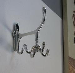 Garderobenhaken Luxus Silber Kleiderhaken Wandhaken Wandgarderobe Drehgarderobe
