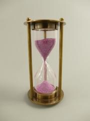 Egg Timer 5 min. Hourglass clock brass bell clock timer timer