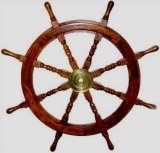 Ship steering wheel Maritim Barre mahogany pirate ship
