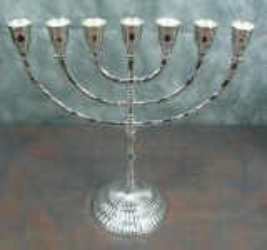Menora Kerzenleuchter Kerzenständer Davidleuchter Antik Barock