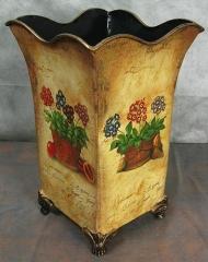 Vase metal vase decoration - Vase cottage dried flowers