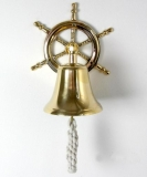 Maritime Art Wall bell brass steering bell doorbell