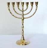 Menorah candleholder candlestick David Chandelier Brass Menorah Antique Baroque