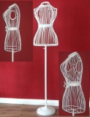 Mannequin Bust Mannequin metal clothes rack Belt Chain stands